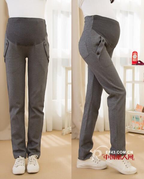孕婦褲有哪些款式   孕婦背帶褲托腹褲打底褲