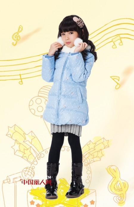 女童长款羽绒服搭配 缤果动漫羽绒服好看吗