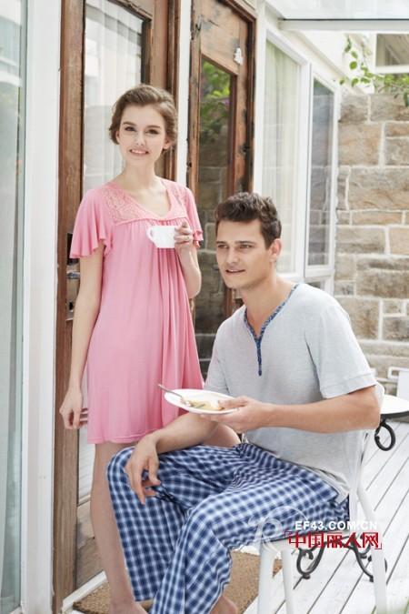 2014家居服秋季流行款式   家居服只能够在室内穿吗