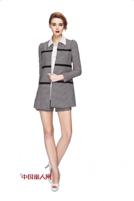 女装套装 中性风套装提升职场亮点 套装搭配
