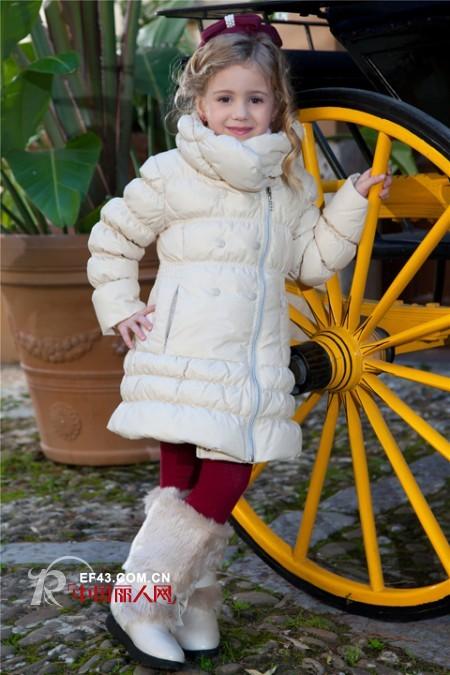 羽绒服棉服款式搭配 女童棉服款式