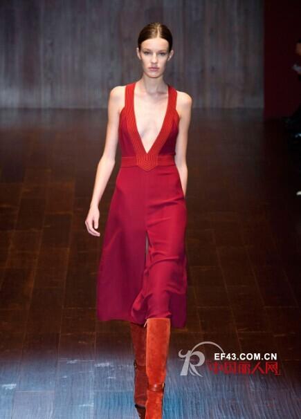 gucci米兰时装周发布2015春夏新品