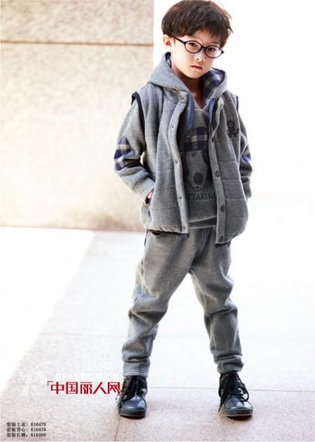 儿童卫衣三件套有哪些 三件套卫衣款式