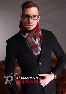 男士西装配什么围巾好看 男士秋季外套搭配