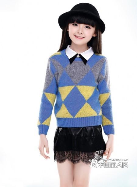 儿童针织毛衣搭配 针织衫搭配什么裙子