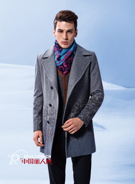 男士大衣 秋冬男士呢子大衣搭配