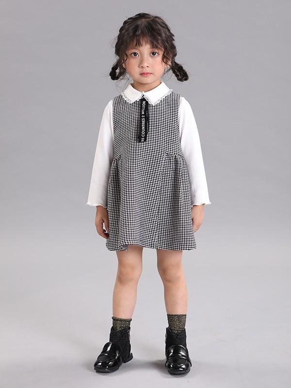 秋季长袖连衣裙配什么颜色打底裤好看 秋装长袖连衣裙配什么鞋子
