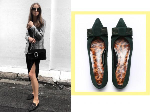 丹比奴秋季尖头单鞋焕新呈现 百搭舒适自由随性