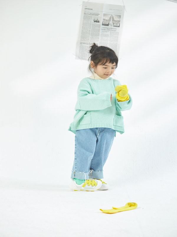 清新可愛的毛衣搭配 為你解決穿搭難題