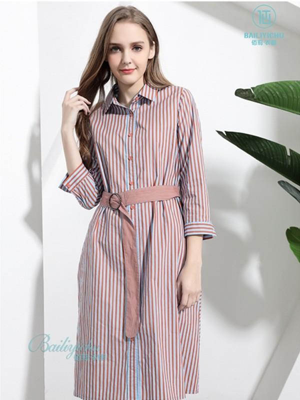 2019秋季流行什么元素的衬衫裙