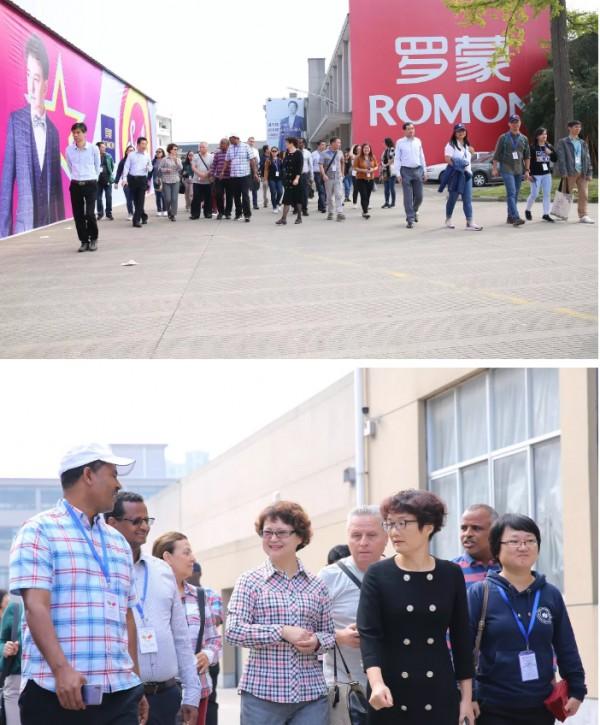 發展中國家治國理政總統顧問團蒞臨羅蒙參觀