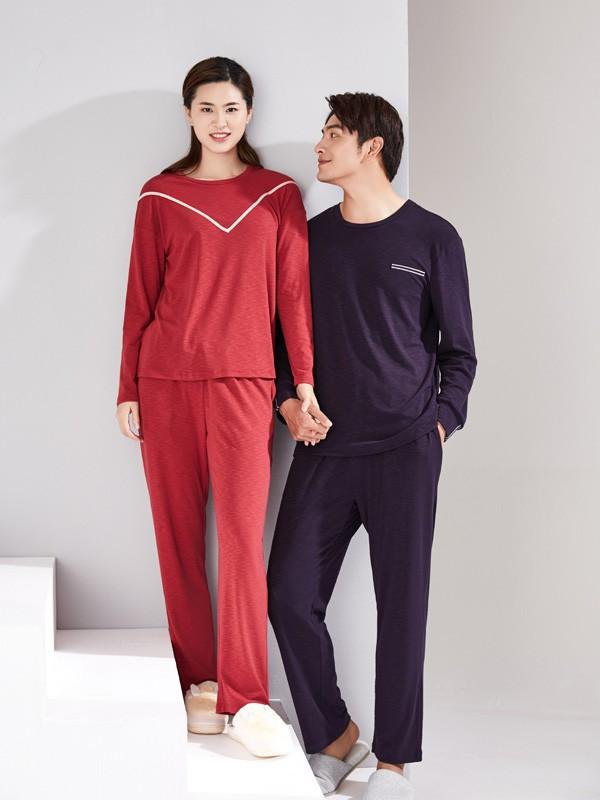 情侶裝早已成為過去式 今年流行的這幾款情侶睡衣簡直太好看了