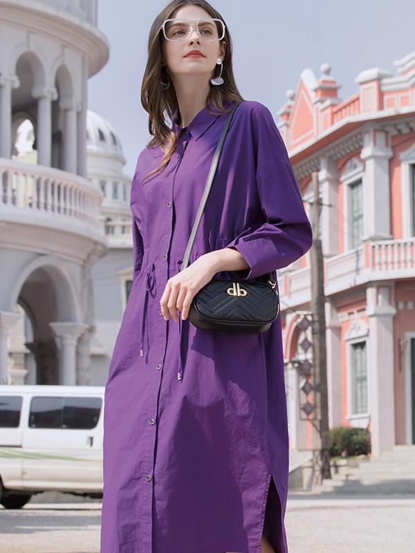 誰說紫色服飾很難搭配 合適的紫色搭配讓你更加分