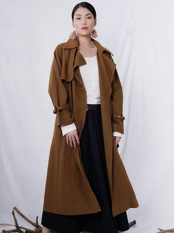 高颜值帅气风衣 秋冬的风衣搭配分享