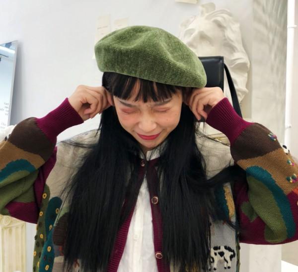 圆脸女孩适合戴什么毛衣 适合圆脸女孩的帽子集合