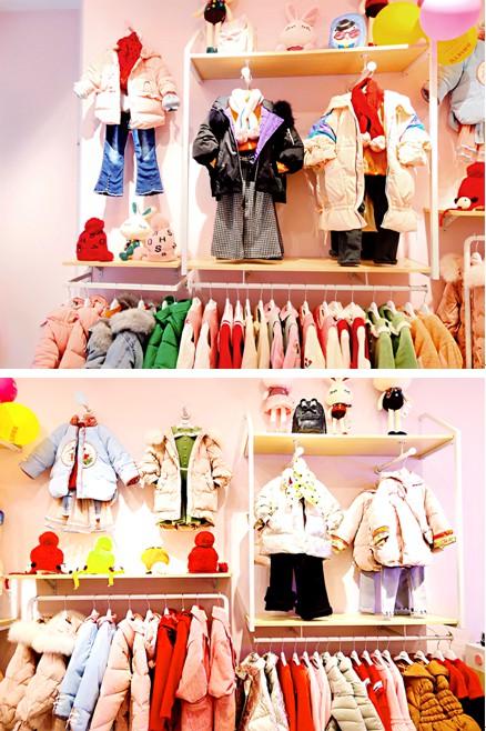 實業童裝品牌選芭樂兔  恭喜孫女士新店開業大吉