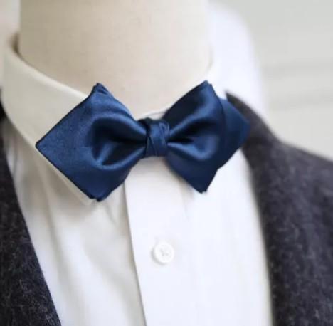 富紳V定制 領結是西裝神奇的點睛手
