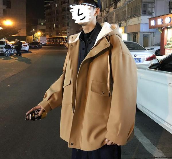 男生穿卡其色大衣内搭要怎么穿 男装卡其色大衣搭配