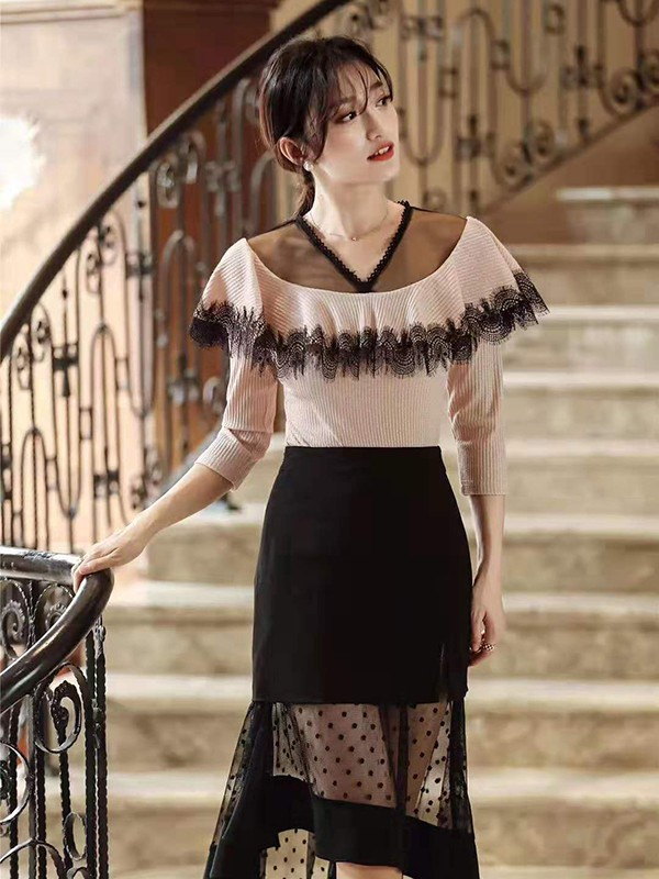 今年冬天穿什么半身裙好看 冬日黑色半身裙的搭配