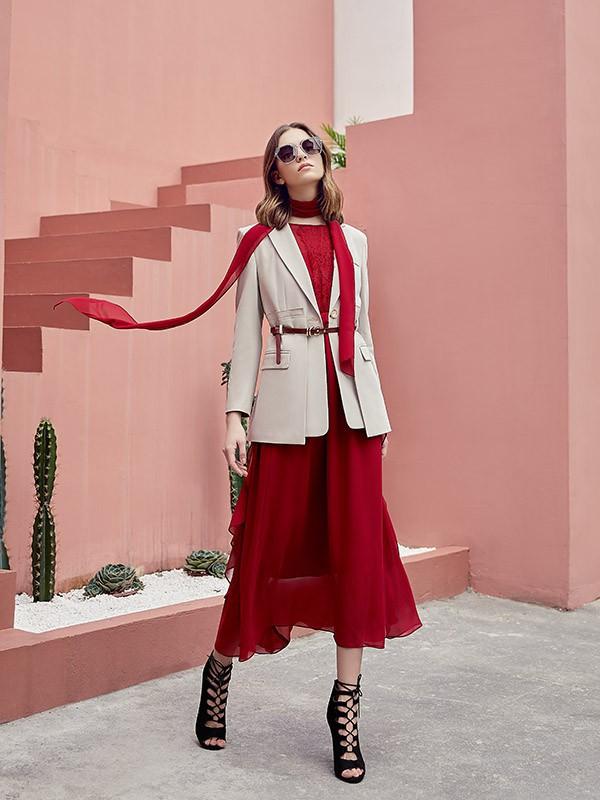 气质优雅外套为你推荐 穿出自己的高级感