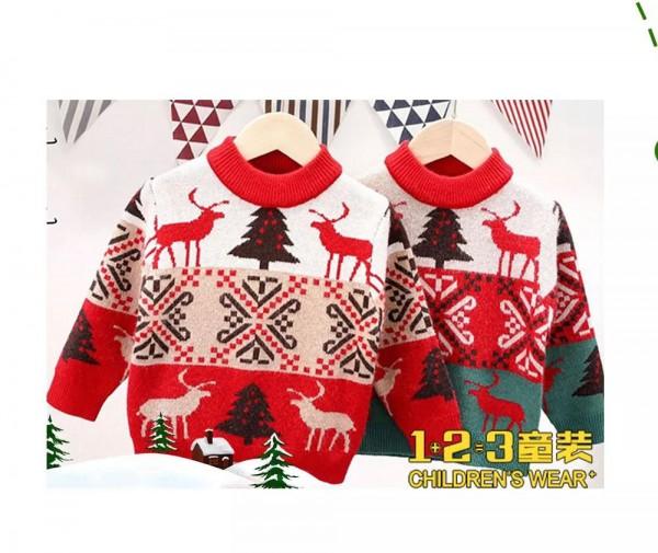 1+2=3童装圣诞主题服装上线 快给宝贝一点惊喜吧
