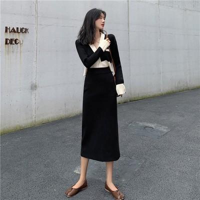 黑色长裙配什么上衣