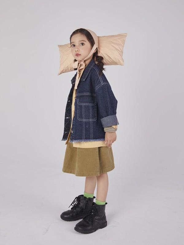 女孩子秋季文艺穿搭 Branca童装穿出秋季的美