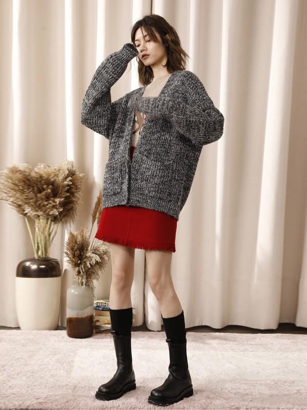 冬日的温柔穿搭 少不了一件针织衫
