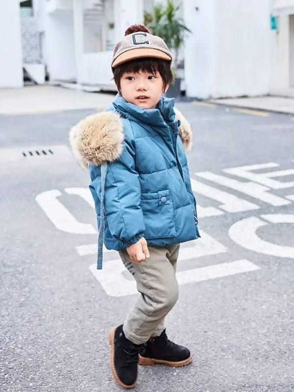 给孩子更温暖的冬天 这件羽绒服你要入手!