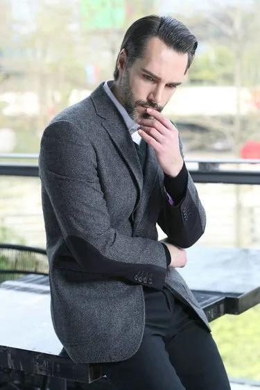 這個冬季 英式西服-讓暖男更有型
