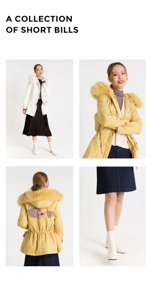降温了来穿阿莱品牌羽绒服怎么样 裹上它温暖又时髦