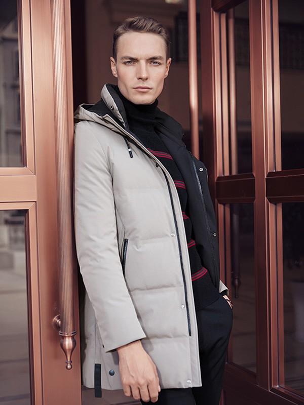 冬天成熟男性的外套应该怎么选?贝克狮丹给你更高的品质