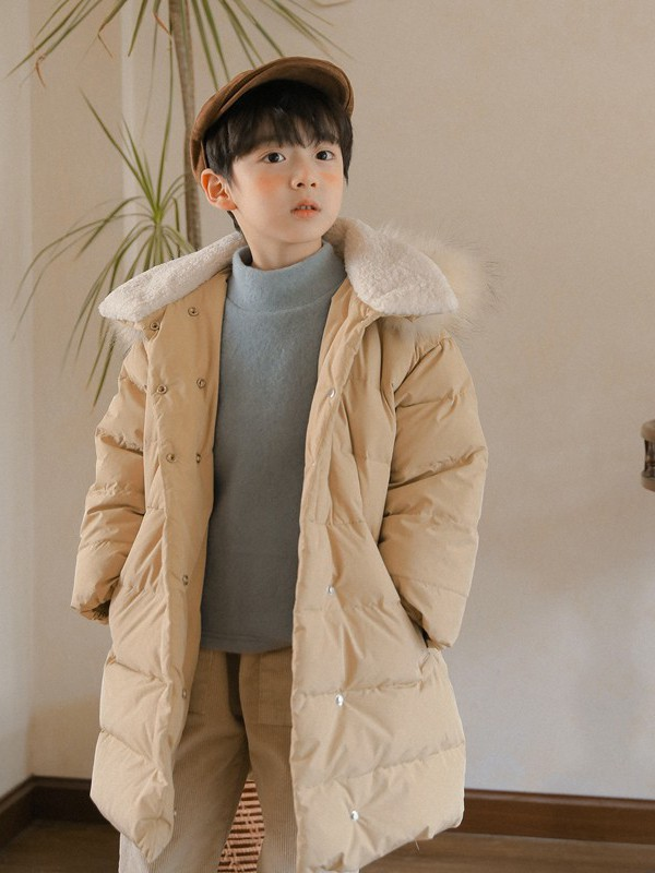 清新可爱的棉服穿搭 小嗨皮童装为你展现