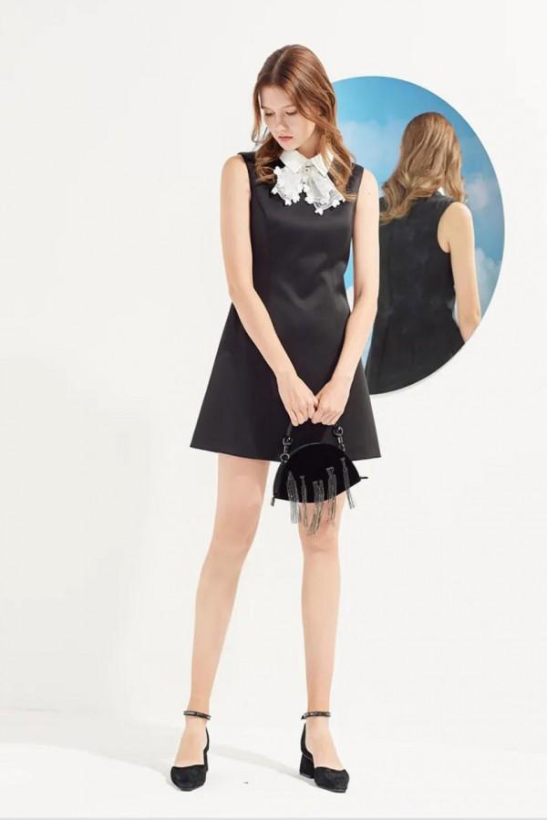 适合春夏季穿的小黑裙 AIVEI气质穿搭首选