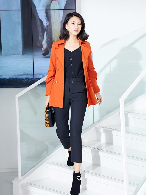 時髦外套搭配 將優雅精致穿出來