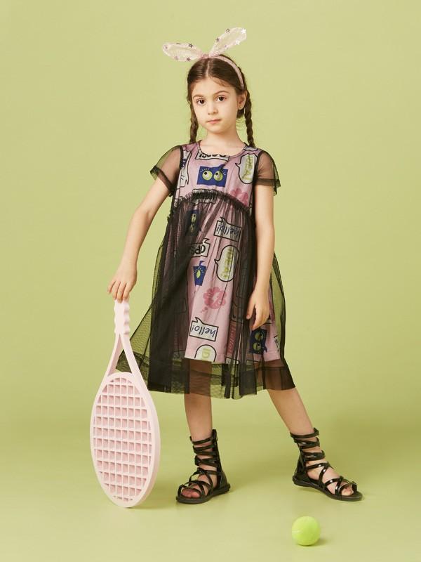 夏天孩子穿什么最舒适?T恤裙更受欢迎