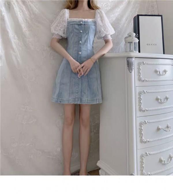牛仔连衣裙 让你整个夏日都很显气质