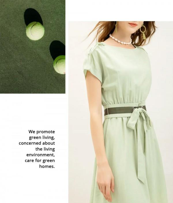 ZDORZI卓多姿女裝品牌夏季綠色新品上市