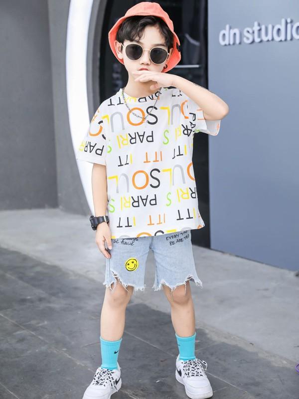 时尚潮T穿搭 123童装教你如何穿