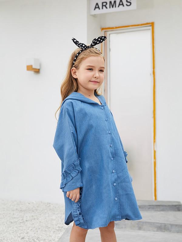 小孩子夏季穿搭怎么少的了这些裙子?