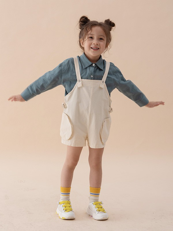 文艺棉麻风 Branca童装诠释孩子的美