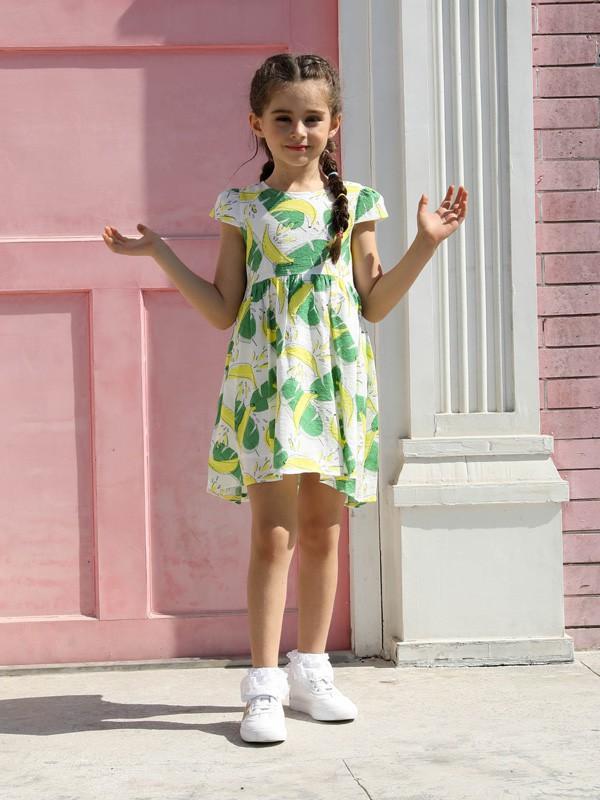 夏季童装连衣裙搭配 芭乐兔童装为你推荐