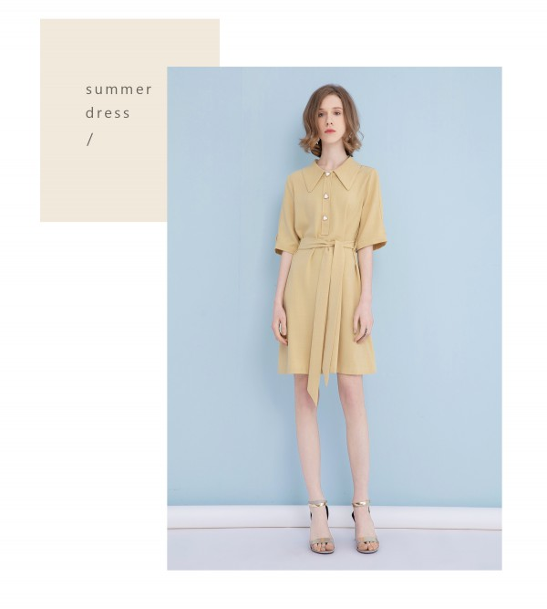 YANG样女装|色彩连衣裙,带你畅享斑斓夏日