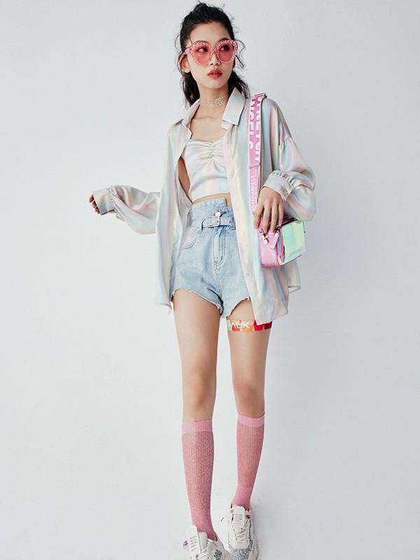 夏季开学怎么穿 Lolypop女装教你怎么穿