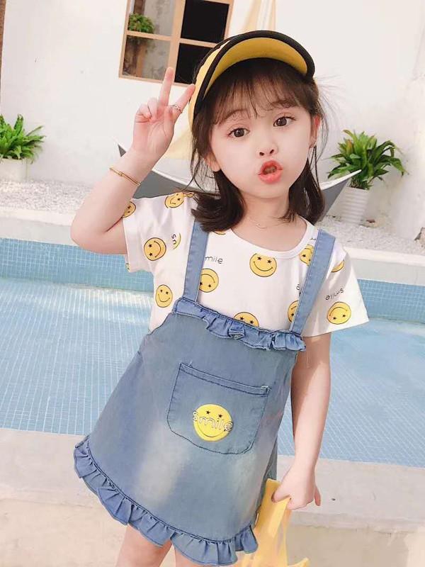 小女孩夏季選擇穿什么才能清新有可愛?可米芽提升夏日幸福感