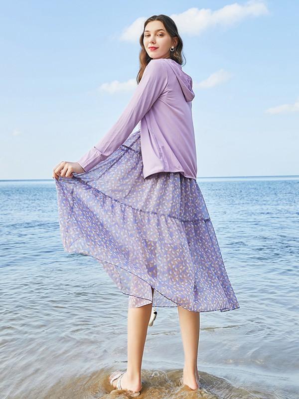 夏日度假穿搭 春美多女装穿出时髦感
