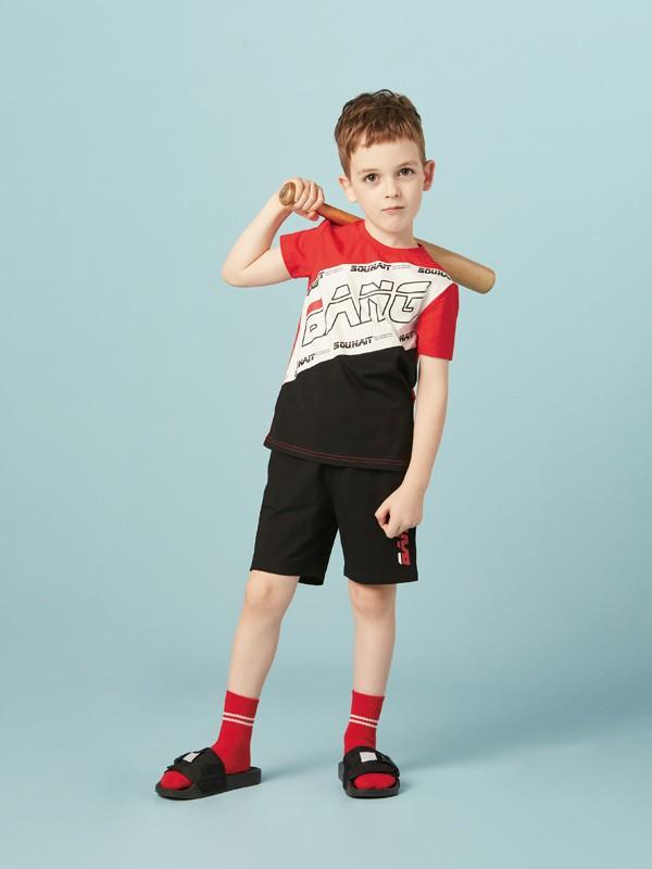时尚休闲英伦风 水孩儿童装教你怎么穿