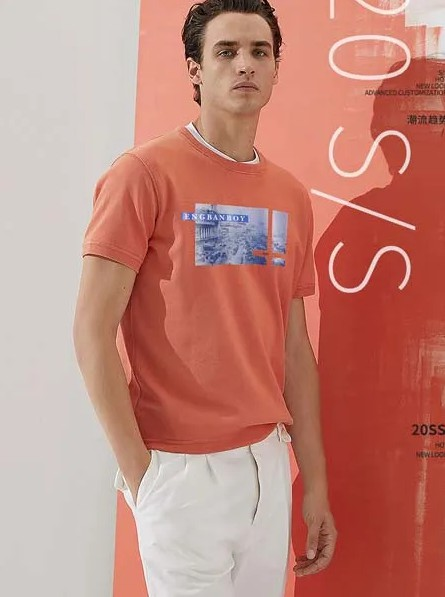 八月养眼T恤上新  男生也可以很有趣