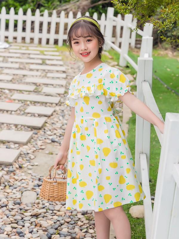 123童装夏日新款连衣裙 带给孩子不一样的穿着体验