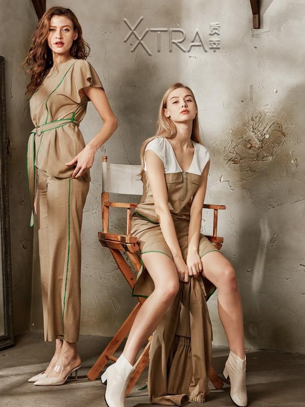 """独立率性的女装品牌""""质萃""""更受市场欢迎"""